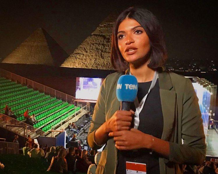 الإعلامية هند مدحت فاروق