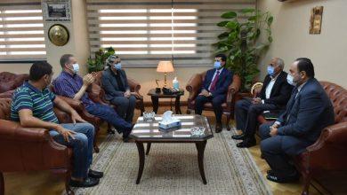 Photo of وزير الرياضة يجتمع مع اللجنة الطبية لبطولة العالم لكرة اليد